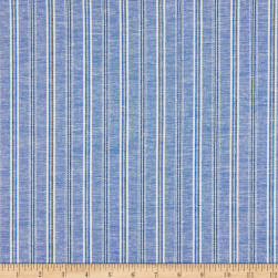 Stripe Linen Royal Fabric