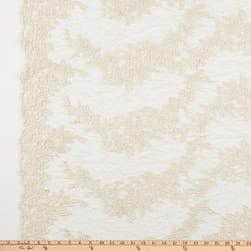 Guipure Lace Ivory Fabric