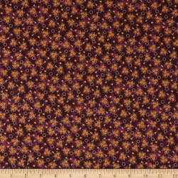 Abby's Treasures Star Clusters Purple Fabric