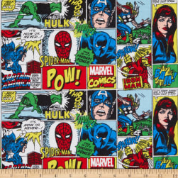 Marvel Action All Around Flannel Multi