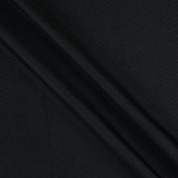 Vintage Linen Bolt 15 Yds Black Fabric