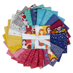 Riley Blake Grl Pwr Fat Quarter Bundles 24