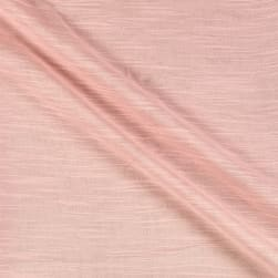 Cotton Double Gauze Slub Rose Fabric