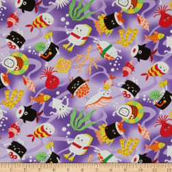 Trans-Pacific Textiles Tomodachi Su-Sea Purple