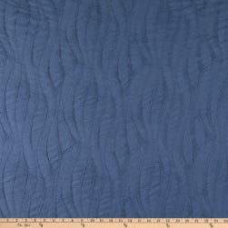 Telio Charlie Ruched Rayon Blend Stretch Jersey Knit Denim Fabric