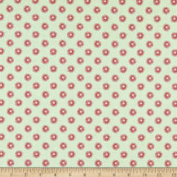 Let's Flamingle! Small Floral Light Green