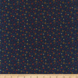 Primitive Traditions Night Blooms Navy