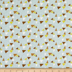 Michael Miller Whimsicals Quirky Triangles Haze