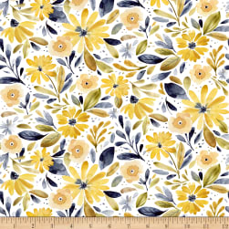 Dear Stella Digital Meant To Bee Floral White