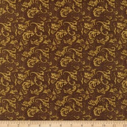 Henry Glass Sunset Rodeo Monotone Texture Brown Fabric