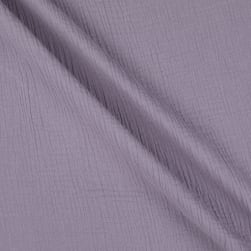 Telio Double Gauze Cotton Purple Ash Fabric