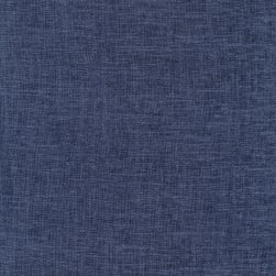 Heathered Linen Blend Ancient New Navy Fabric