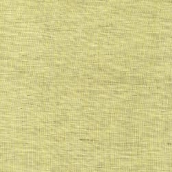 European Linen Two Tone Army Green/Ivory/Soft Yellow Fabric