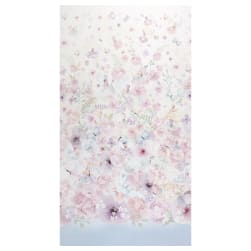 Michael Miller My Heart Flutters Fairy Dreams 24'' Panel Pink Fabric