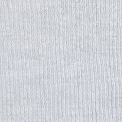 Telio Organic Cotton Interlock Knit White Fabric