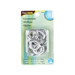 "Curtain Grommets 7/16"" Silver"