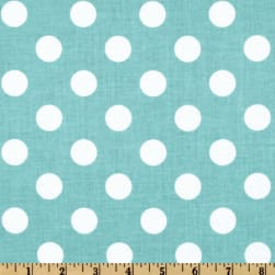 Riley Blake Dots Medium Aqua