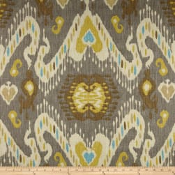 Waverly Enlightened Ikat Pumice Fabric