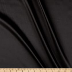 Silky Satin Charmeuse Solid Black Fabric