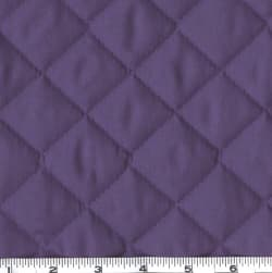 Double-Sided Quilted Broadcloth Purple Fabric