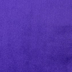 Shannon Minky Solid Cuddle 3 Purple Fabric