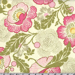 Amy Butler Midwest Modern Fresh Poppies Fuchsia