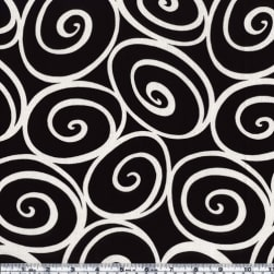 Michael Miller Ironworks Ebony Fabric
