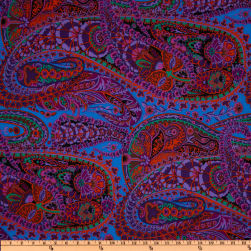 Kaffe Fassett Paisley Jungle Purple