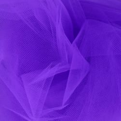 54'' Apparel Grade Tulle Deep Purple Fabric