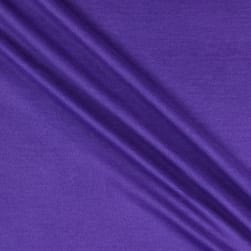 Organic Cotton Sweatshirt Fleece Purple Fabric