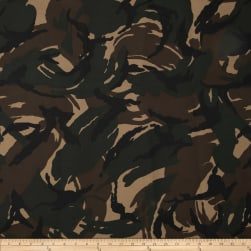 Heavy Duty Nylon Canvas Camo Fabric