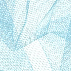 Nylon Net Light Blue