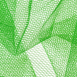 Nylon Net Kelly Green Fabric