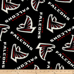 NFL Fleece Atlanta Falcons Black/Red