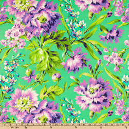 Amy Butler Love Bliss Bouquet Emerald Fabric