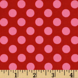Michael Miller Ta Dot Berry Fabric
