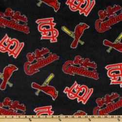 MLB Fleece St. Louis Cardinals Toss Red/Blue Fabric