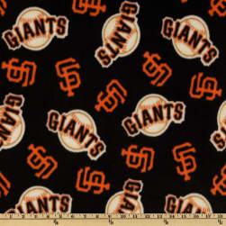 MLB Fleece San Francisco Giants Toss Black Fabric