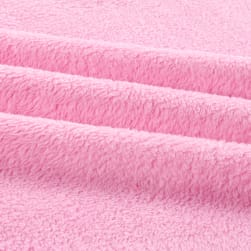 Shannon Minky Cuddle Fleece Hot Pink