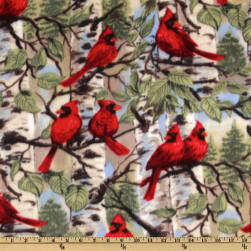 WinterFleece Red Bird