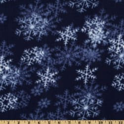 WinterFleece Dark Blue Blizzard