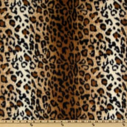Baum WinterFleece Black/Brown Leopard Fabric