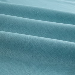 European 100% Linen Ice Blue