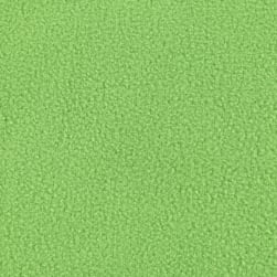 WinterFleece Micro Chamois Lime Green Fabric