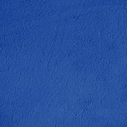 Shannon Minky Solid Cuddle 3 Electric Blue