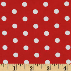 Pimatex Basics Polka Dots Red
