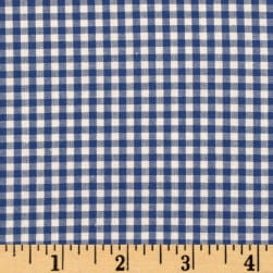Kaufman 1/8'' Carolina Gingham Royal