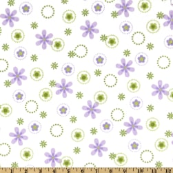 Cozy Cotton Flannel Floral Spring Fabric