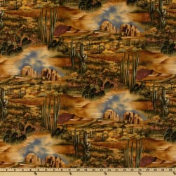Michael Miller Southwest Desert View Tan