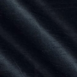Dupioni Silk Fabric Black